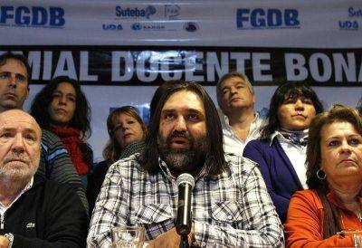 ADULP expresó su solidaridad con Baradel ante las amenazas que recibió su familia