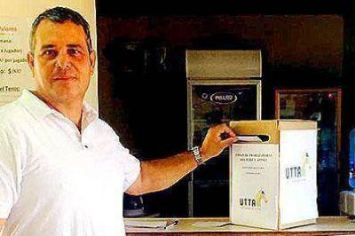 Diego Ruiz Díaz fue reelegido como delegado de la UTTA en Rafaela
