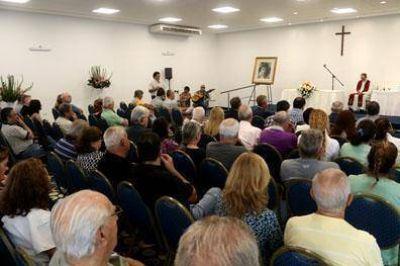 Luz y Fuerza realizó una misa en memoria de Oscar Smith