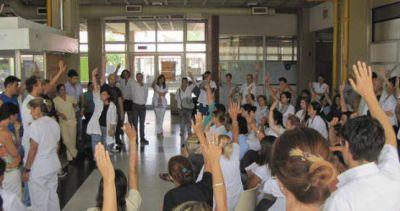 Más protestas en los hospitales bonaerenses