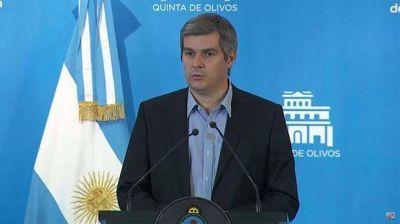 Marcos Peña defendió los aumentos: