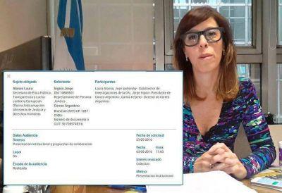 La respuesta de Laura Alonso sobre su reunión con el presidente del Correo