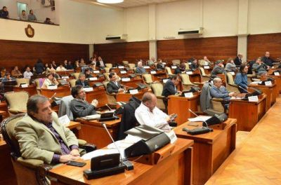 Sesiona la Legislatura de la provincia