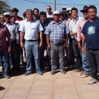Asistencia a productores de ruta 6 con forrajes y fardos de pasto por sequía