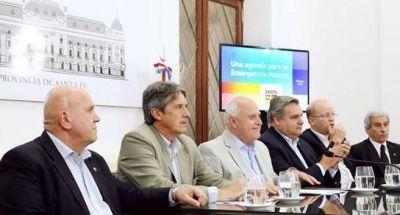 Lifschitz presentó medidas para afrontar la Emergencia Hídrica