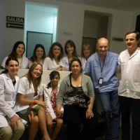 Realizaron en el Hospital El Cruce el 1° autotrasplante renal a una niña de 11 años