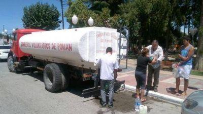 En Pomán ya llevan 5 días sin servicio de agua potable