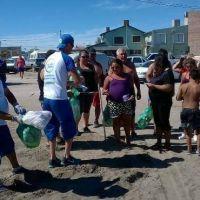 Corvina Negra: recolectaron más de 2.600 kilos de basura en las tres playas