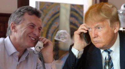 Macri volverá este miércoles a hablar por teléfono con Donald Trump