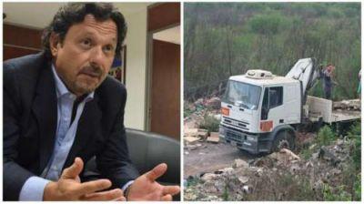 Sáenz, indignado con Easy por la contaminación del río Arenales: