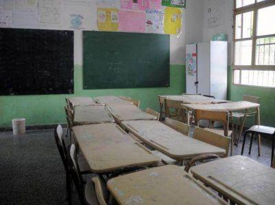 Comenzó la desinfección de escuelas: pretenden completar 30 edificios por día