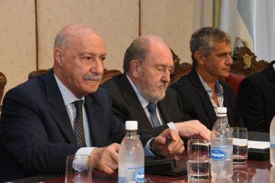 Verna encabezó la presentación de la Expo PyMEs