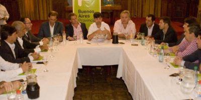 El Intendente Municipal, Germán Di Cesare, realizó gestiones en La Plata y en CABA