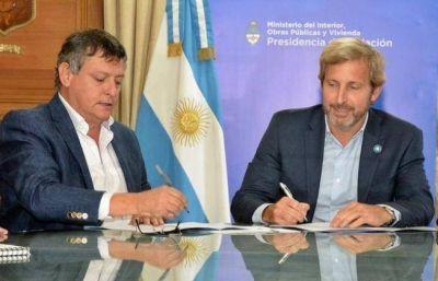 Peppo firmó el convenio para el financiamiento del Acueducto