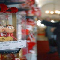 Las ventas por el día de San Valentín cayeron un 3,4%