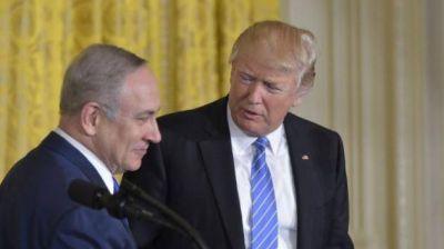 Netanyahu defendió a Trump sobre las acusaciones de antisemitismo