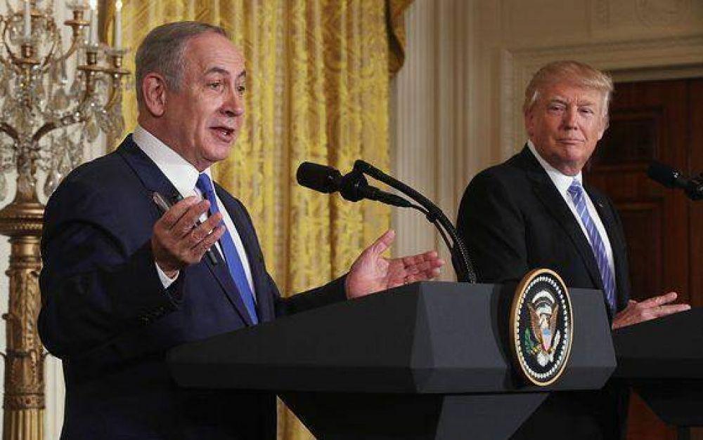 Anuncian Trump y Netanyahu su intención de crear un nuevo plan de paz para el Medio Oriente