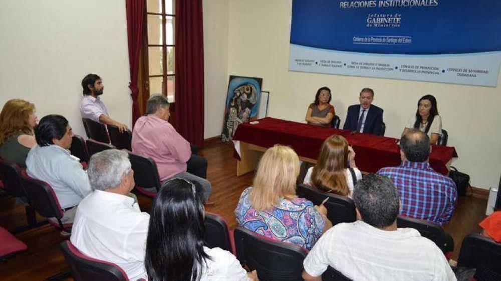 La Mesa de Diálogo Docente comenzó con las reuniones por temas salariales