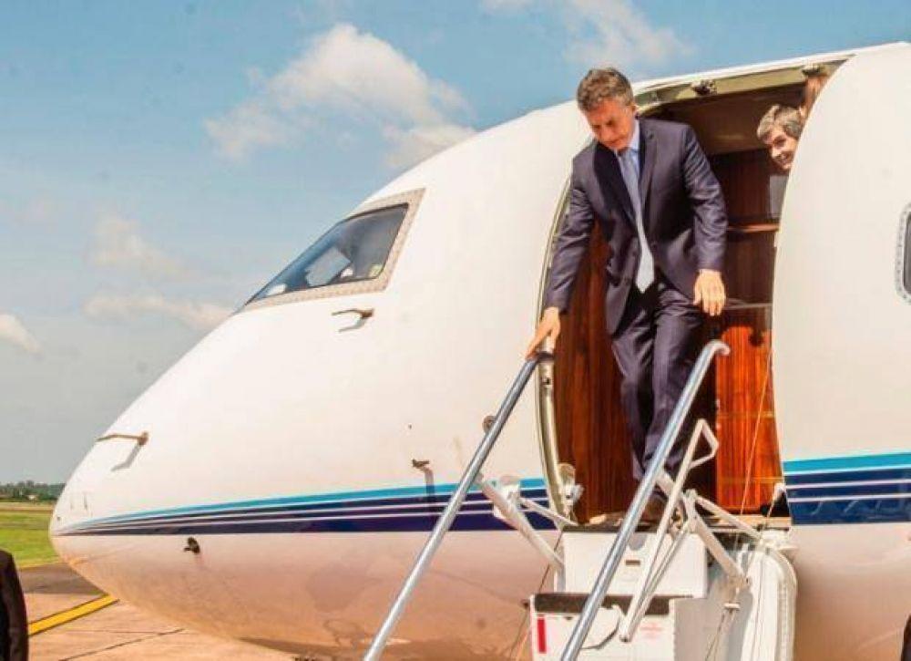 Macri llega a San Luis, en su primera visita a la provincia como Presidente