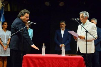 Nader Alí juró como ministro de Seguridad