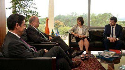 Argentina y Brasil buscan coordinar la lucha contra el delito y el narcotráfico