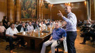 El Gobierno presentó a los sindicatos su plan de infraestructura y transporte