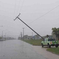 Fuerte temporal afectó a varios sectores de la ciudad