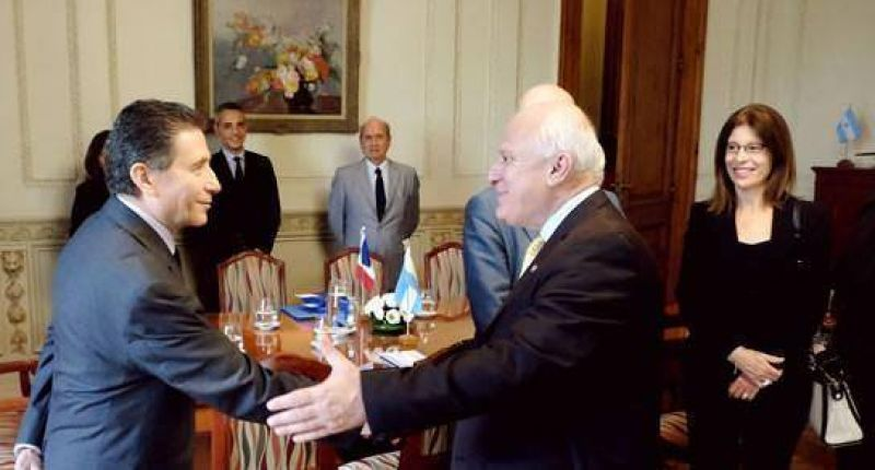 Lifschitz recibió a empresarios franceses en Rosario