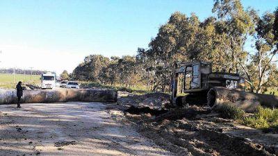 Piden que se asfalte el ingreso y los caminos del predio de residuos