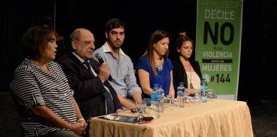 """Arroyo dio inicio a la jornada """"Políticas de género a nivel Provincial y Nacional"""""""