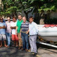 El Municipio incorporó un nuevo bote de rescate para mejorar la seguridad en playas