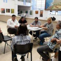 El municipio recibió a cooperativistas que pidieron por la continuidad de los trabajos