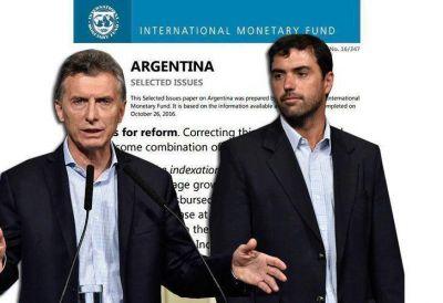 La oposición apunta a un mandato del FMI por el recorte a los jubilados