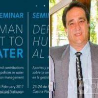 Dirigente gremial misionero de obras sanitarias expondrá en Seminario Pontificio de El Vaticano