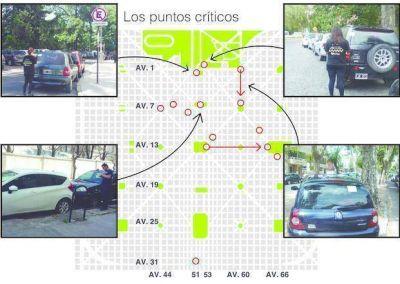 Estacionamiento indebido: los sitios donde más infracciones se cometen