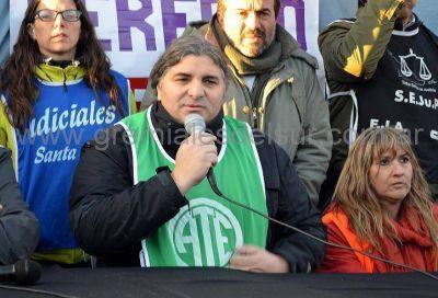 """""""Si viene Macri tenemos la obligación de parar"""", Alejandro Garzón"""