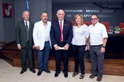 Garín es el nuevo presidente de la Federación Medica Gremial de la Capital Federal