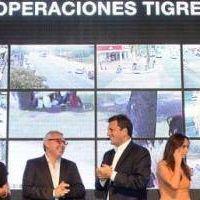 Zamora y Massa presentaron la plataforma de seguridad Alerta Tigre Global