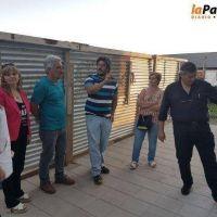 Zara recorrió obras escolares de importancia para Villalonga