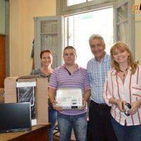 Zara entregó nuevo equipamiento a la Escuela Spegazzini