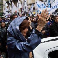 Cristina se lanza como candidata con el slogan