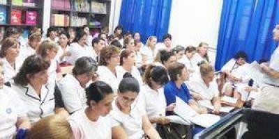 18 mil docentes retornan hoy a las escuelas en la provincia