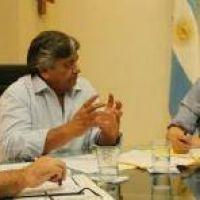 Peppo y el intendente de Ciervo Petizo hablaron sobre obras públicas en la localidad