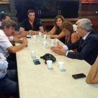 Auza se reunió con Domínguez en Buenos Aires