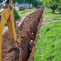 Obras Sanitarias proyecta sumar más de 250 cuadras de agua y cloacas este año