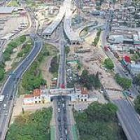 Avanzan las obras en puente La Noria: un viaducto unirá a la ciudad con la zona sur