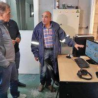 Linares visitó la planta de ósmosis inversa de Puerto Deseado
