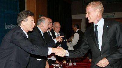 Reaparece Francisco De Narváez y se reúne con Mauricio Macri en Olivos
