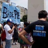 Organizaciones sociales marcharán al Obelisco para reclamar por planes