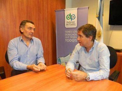 Lorenzino y Cantón coincidieron en fortalecer la labor conjunta en DDHH